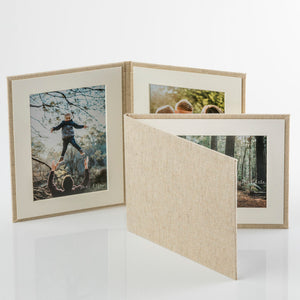 "7x5"" - 2 Photo - HORIZONTAL Display Frame"
