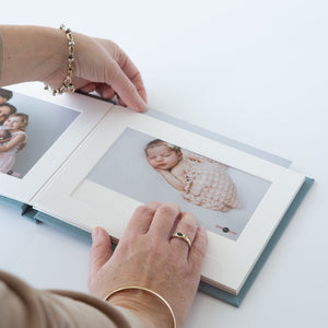 "7X5"" - 20 Photo - HORIZONTAL Matted Album"