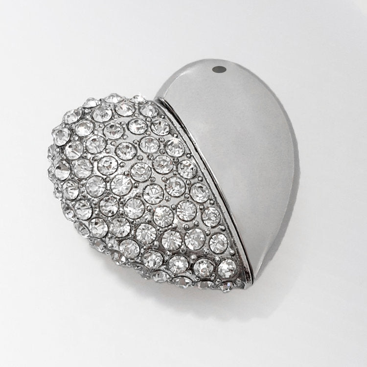 Jewelled Heart USB