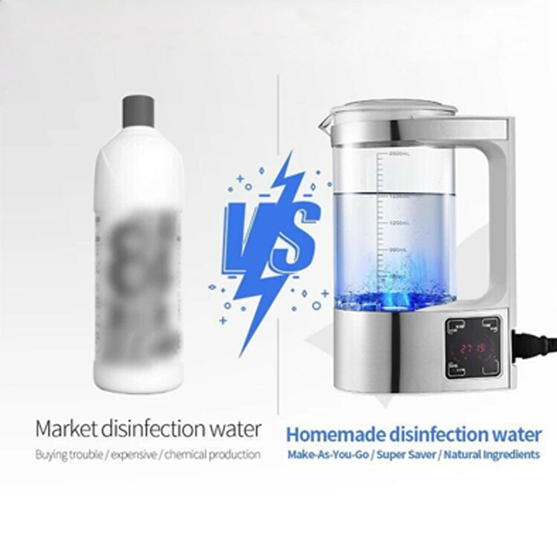 2L Portable Electric Hypochlorous Acid Water Generator Water Maker