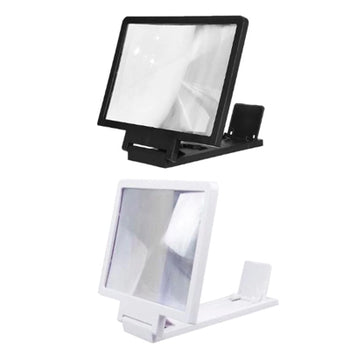 3D Screen Amplifier Mobile Phone Magnifying Stand Video Folding Screen