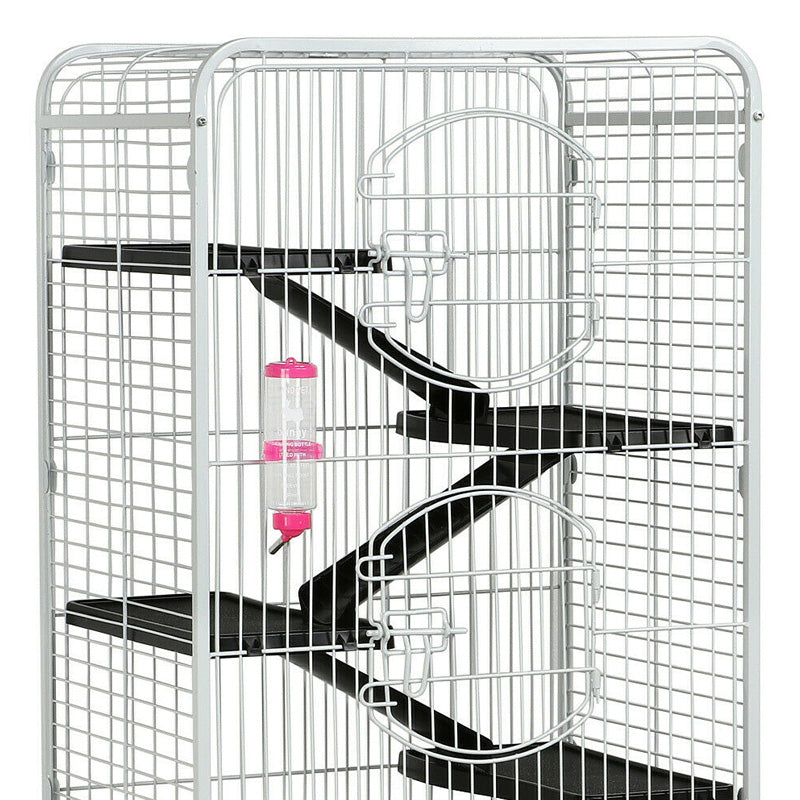 6 Level 52''Metal Pet Ferret Cage Chinchilla Rabbit Squirrel Habitat