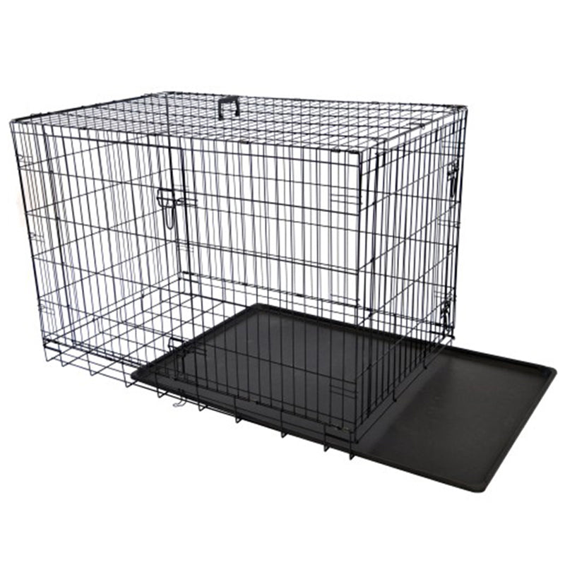"High Quality Wholesale Dog House Pet Door Kennels Cage 42"" Crate"