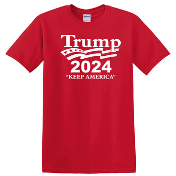 President Trump 2024 Keep America - Election 2020 Political T Shirt