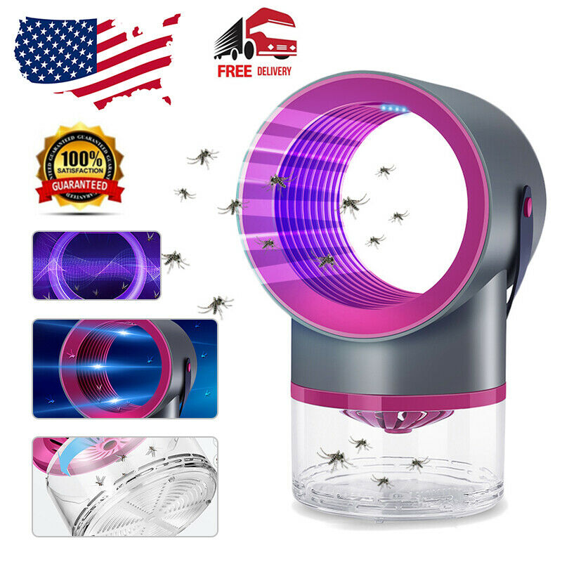UV Electric Mosquito Killer Lamp Fly Bug Insect Pest Zapper