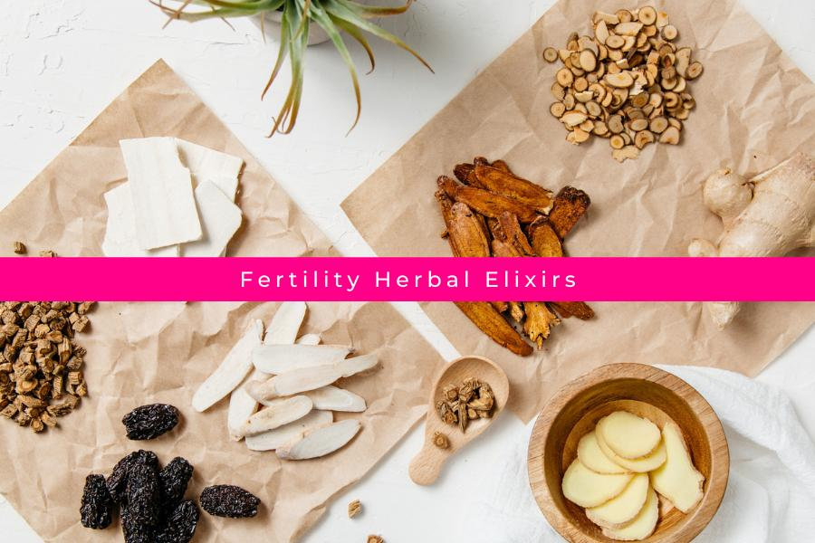 Fertility Herbal Elixirs - A Powerful Way to Help You Get Pregnant Faster!