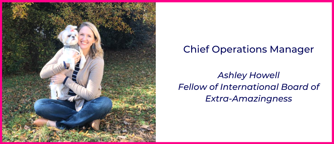 Ashley Howell, Two Elefants Chief Operations Manager