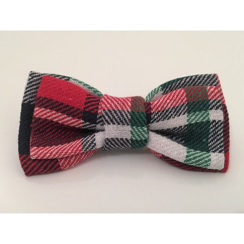 Red & Navy Bow Tie