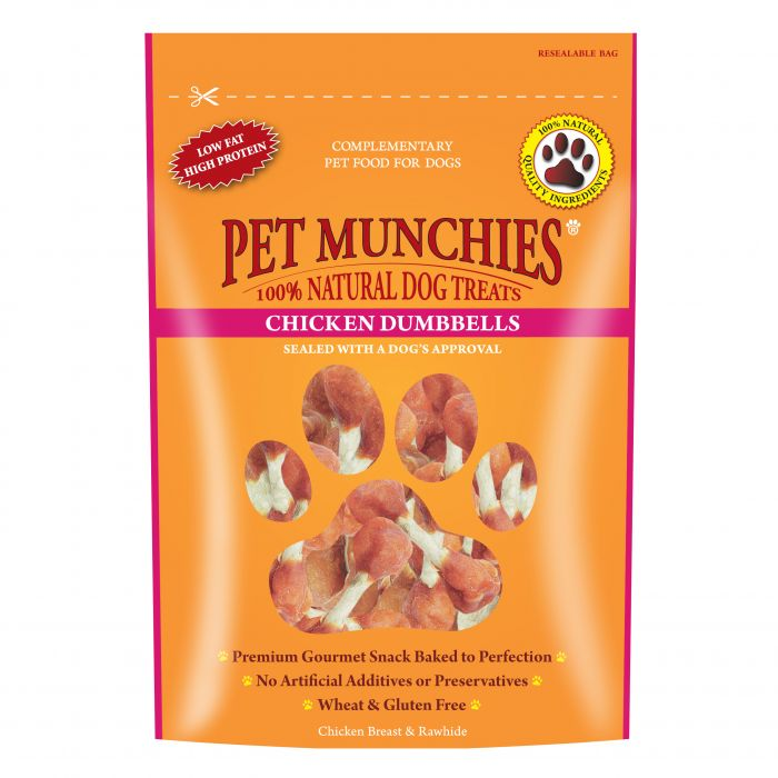 Pet Munchies Chicken Dumbells