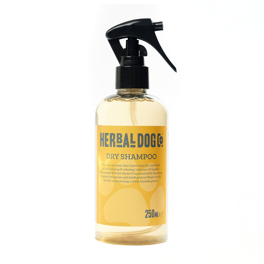 Herbal Dog Co All Natural Baby Poweder Dry Shampoo For Dogs