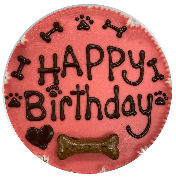 Personalised Dog Celebration Cake
