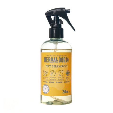 Herbal Dog Co All Natural Apple And Vanilla Dry Shampoo For Dogs