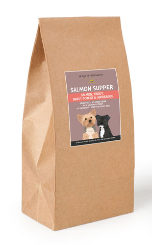 Wags & Whiskers Grain Free Salmon Supper