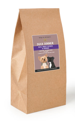 Wags & Whiskers Grain Free Duck Dinner