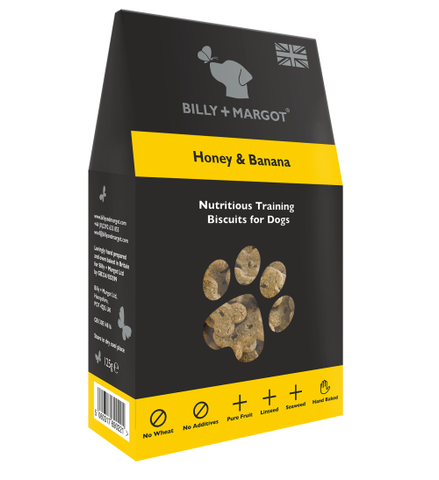 Billy & Margot Honey & Banana Dog Biscuits