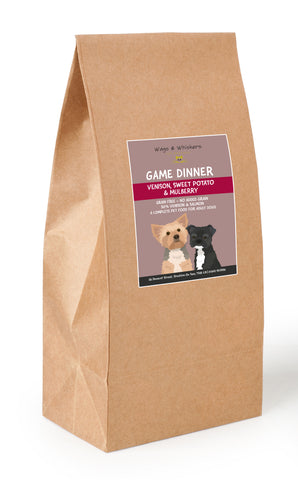 Wags & Whiskers Grain Free Game Dinner