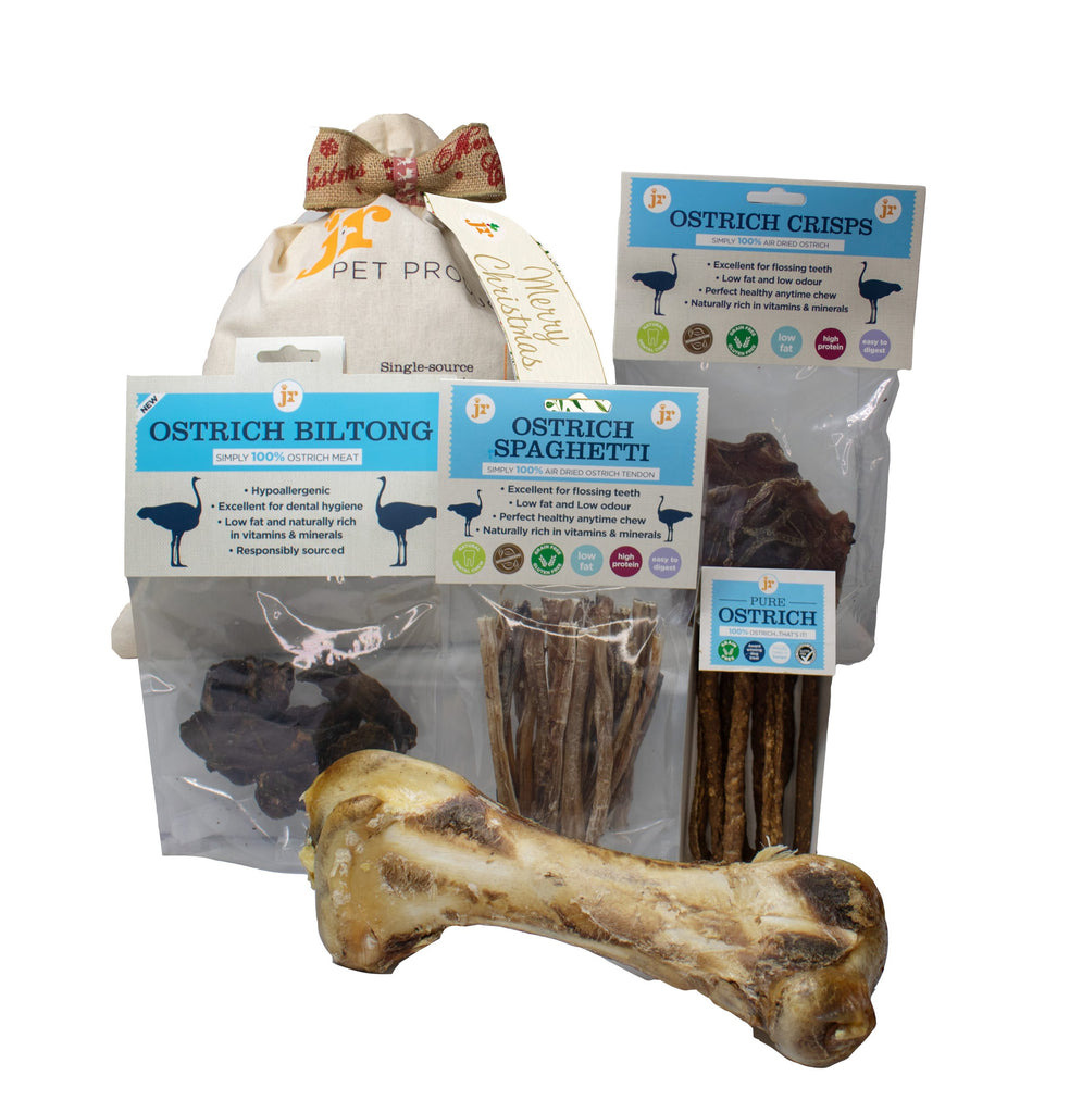 JR Pets Ostrich Christmas Gift Sack