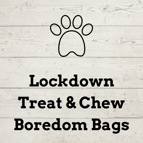 Wags & Whiskers - Lockdown Boredom Treat & Chew Bag