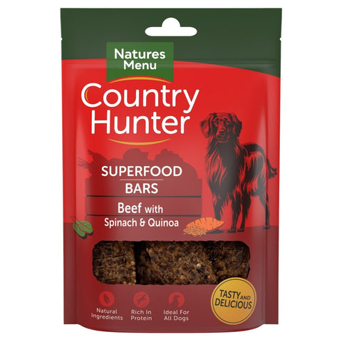 Natures Menu Superfood Bars (Beef with Spinach & Quinoa)