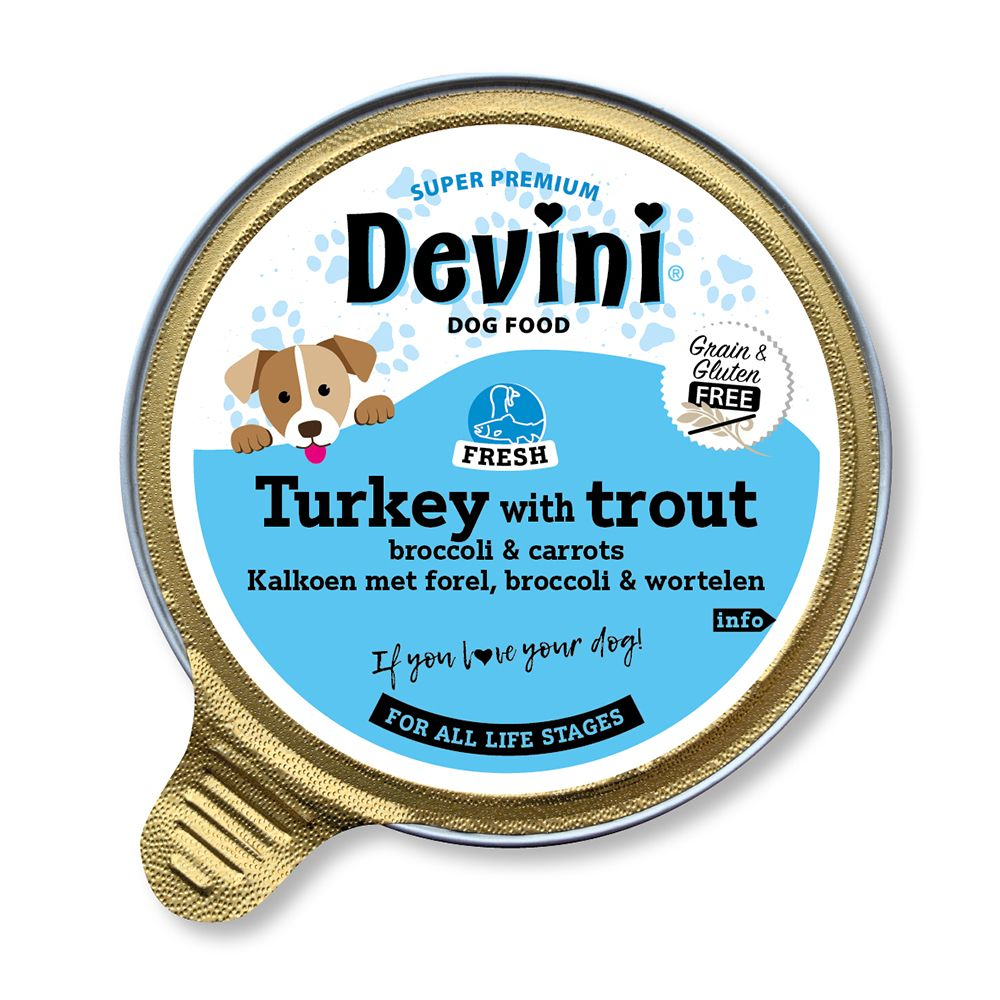 Devini Turkey & Trout for Dogs 85g