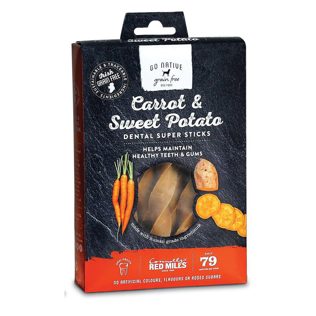 Go Native Carrot & Sweet Potato Dental Sticks