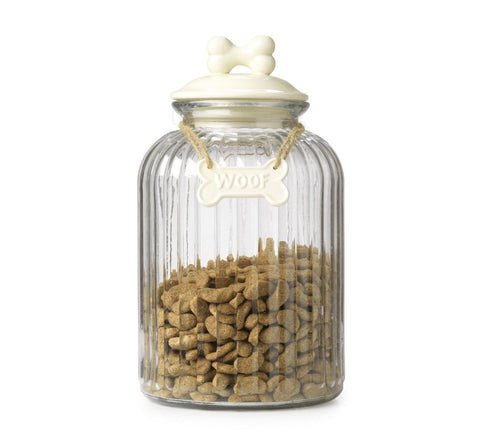House of Paws Country Cream Treat Jar