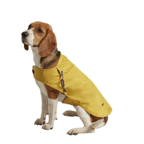 Joules Mustard Dog Rain Coat