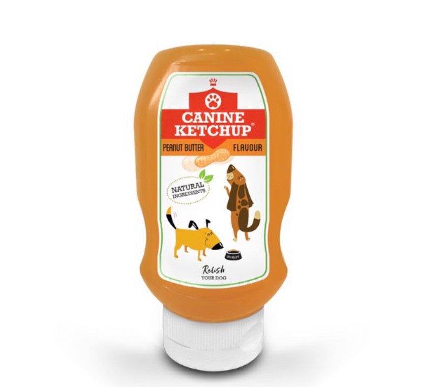 Canine Ketchup - Peanut Butter Flavour