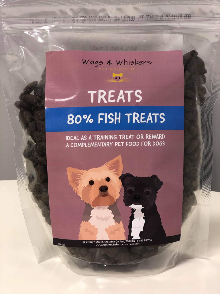 Wags & Whiskers 80% Fish Grain Free Training Treats