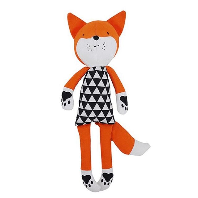 Rosewood Chubleez Plush Dog Toy – Mr Fox