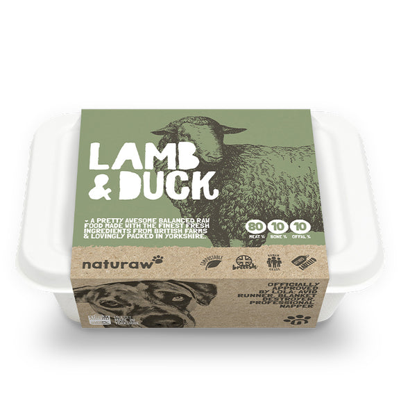 Naturaw Lamb & Duck 500g