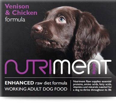 Nutriment Venison & Chicken Formula
