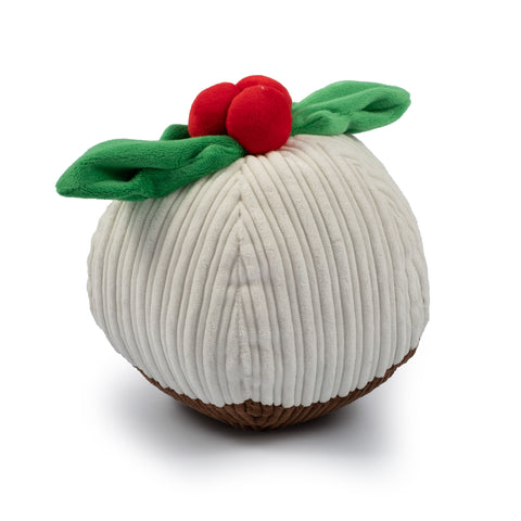 Ancol Soft Plush Giant Christmas Pudding Toy