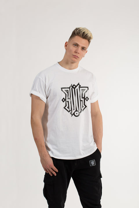 T SHIRT LOGO WHITE