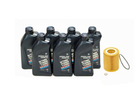 BMW Oil Change Packages