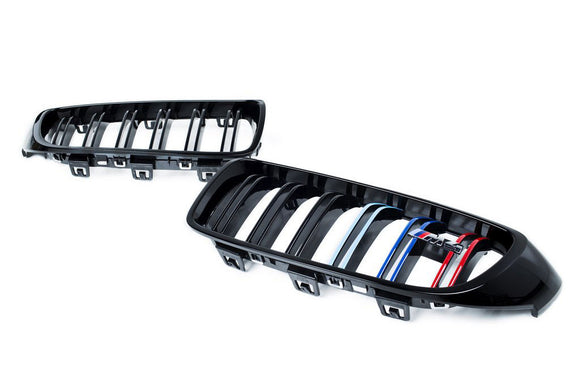 BMW F80 M3 / F82 M4 Full Grille Set (Pair)