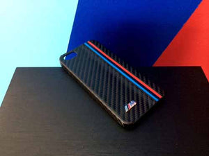 Genuine BMW iPhone Case (5/5S) (Carbon Fiber Look)