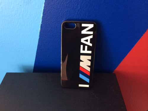 Genuine BMW iPhone Case (5/5S) (I ///M FAN)