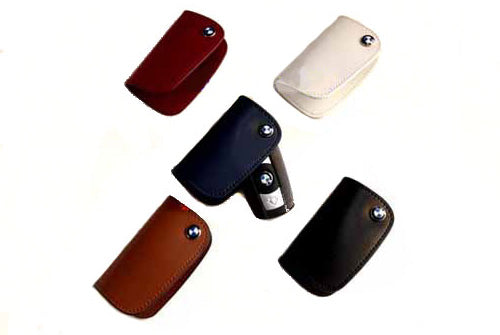 Genuine BMW Leather Key Case