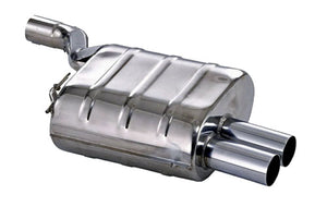 BMW Eisenmann Exhaust - 520I/523I/525I/528I/530I (E39) Sedan - Sb - 2X83mm Round Tips