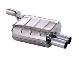 BMW Eisenmann Exhaust - 520I/523I/525I/528I/530I (E39) Sedan - M-Tech Bumper - 2X76mm Round Tips