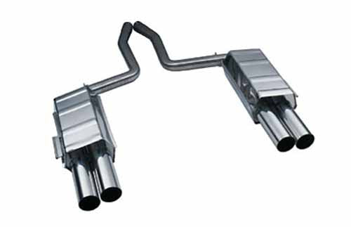 BMW Eisenmann Exhaust - 850Ci M70 (E31) - 4X83mm Round Tips