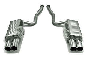 BMW Eisenmann Exhaust - 850Ci M73 (E31) - 4X83mm Round Tips