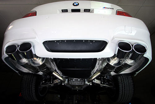 BMW Eisenmann Exhaust - M5 (E60) Sedan - 4X120X77mm Oval Tips