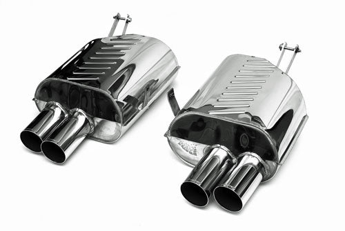 BMW Eisenmann Exhaust - Z4M 3.2 (E85/E86) - 4X83mm Round Tips