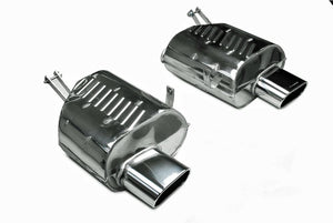 BMW Eisenmann Exhaust - Z4M 3.2 (E85/E86) - 2X160X80mm Oval Tips