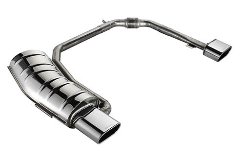 BMW Eisenmann Exhaust - 320I/Ci M54, 325I/Ci M54, 330I/Ci M54 (E46) - 2X160X80mm Oval Tips