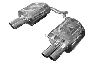 BMW Eisenmann Exhaust - 645Ci (E63/E64) - 4X83mm Round Tips