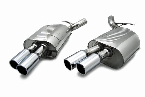 BMW Eisenmann Exhaust - M6 (E63/E64) - 4X83mm Round Tips
