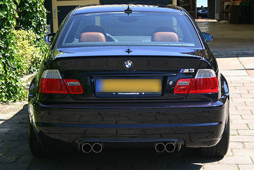 BMW Eisenmann Exhaust - M3 (E46) - 4X76mm Round Tips